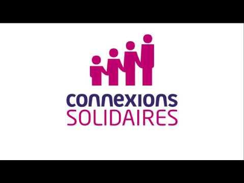 Emmaüs Connect & Connexions Solidaires : Logos animation