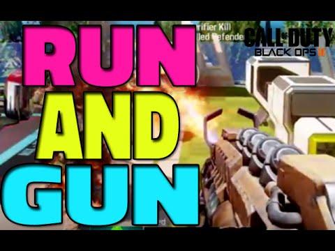 machine gun run