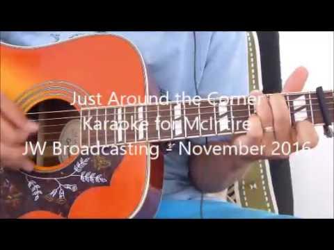 Just around the corner - JW Broadcasting - Karaoke guitar for
