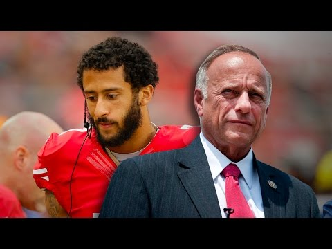 Rep. Steve King Says Colin Kaepernick's Protest Shows He's An ISIS Sympathizer