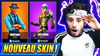 "🔴 New SKIN ""VICTORION"" DISPONIBLE on FORTNITE: Battle Royale!! (6 TOP1)"