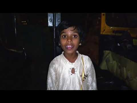 Sang na devi mazya bhavala song sung by 5 year little girl Amazing Voice