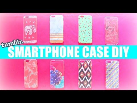 8 DIY HANDYHÜLLEN ☀️ SOMMER TUMBLR PHONE CASE SELBER