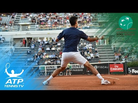 Nadal, Djokovic and Raonic all win | Rome 2017 Highlights Day 5
