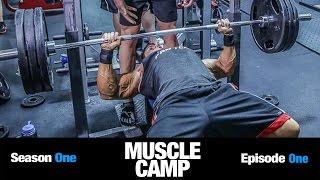 AM DPT Photo Shoot + AM Chest/Back Strength Workout   MUSCLE CAMP S01E01