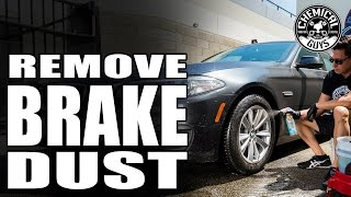 DIY: How To Get Heavy Brake Dust Off Rims - Sticky Citrus Gel - Chemical Guys Car Care