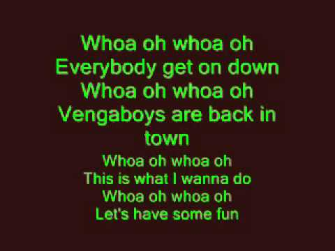 Vengaboys - Boom Boom Boom Boom Lyrics