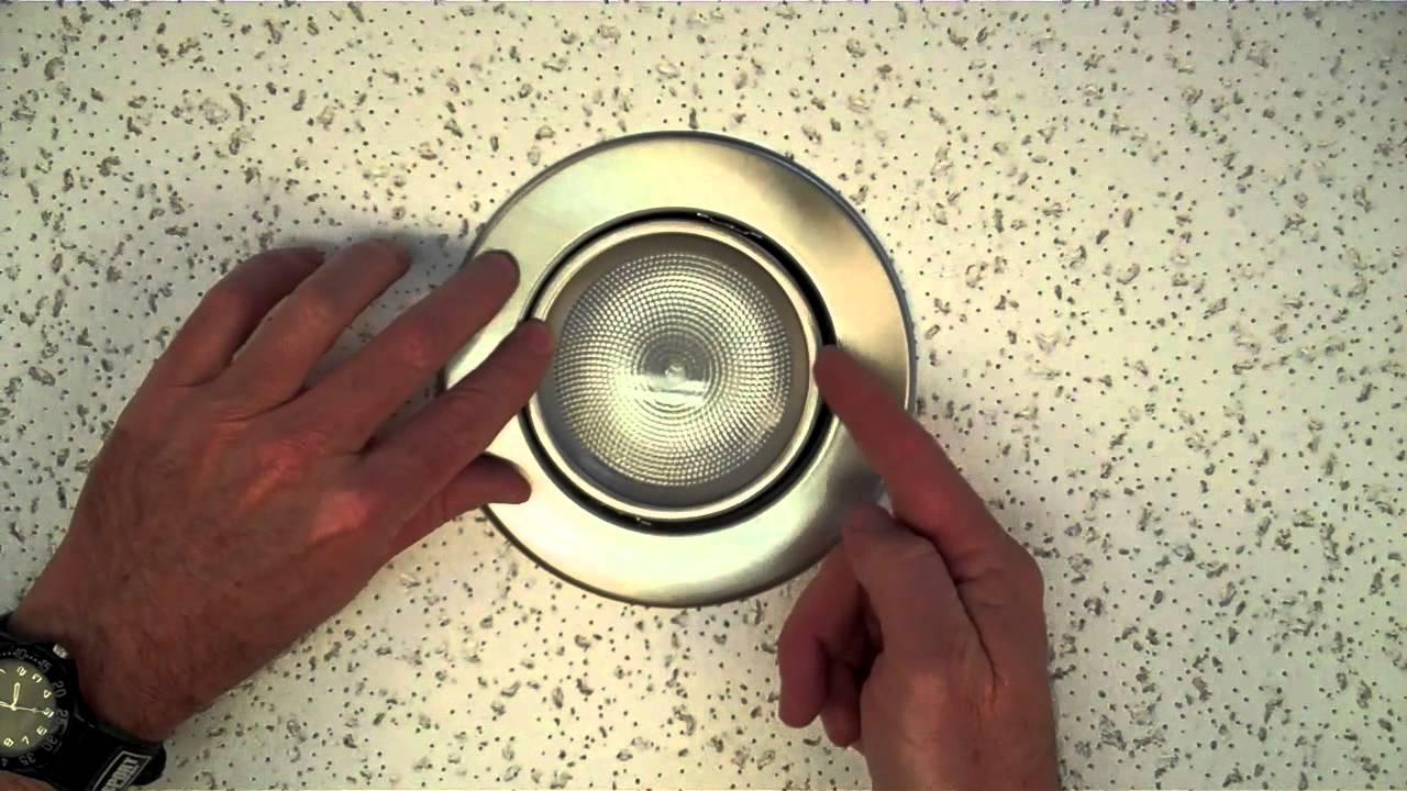How to replace recessed lighting trim - How To Install A 5 Recessed Gimbal Ring Trim By Total Recessed Lighting Youtube