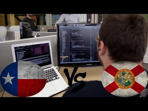 TX vs FL | Зарплаты и работы | Работа и зарплата в ИТ и Software Development