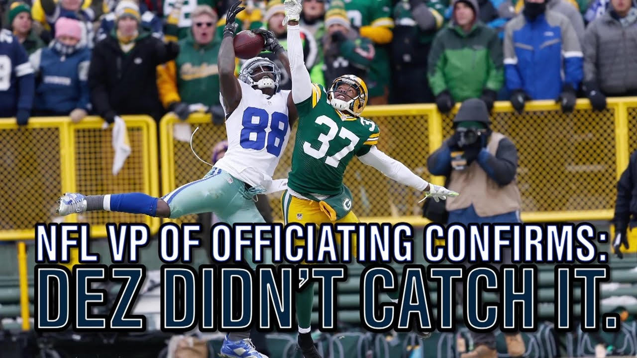 Former NFL VP of Officiating on Dez Bryant: 'You want that to be a catch'