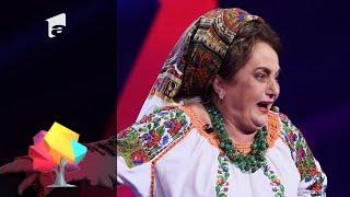 Ajut EU: Laura Lavric, moment de stand up comedy de senzație în fața juraților iUmor