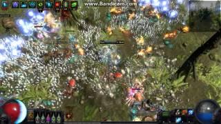 PoE Projectile Return Kinetic Blast CoC (Tora