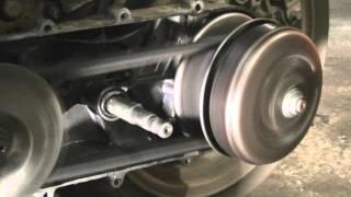 Как работает вариатор на двигателе 157qmj