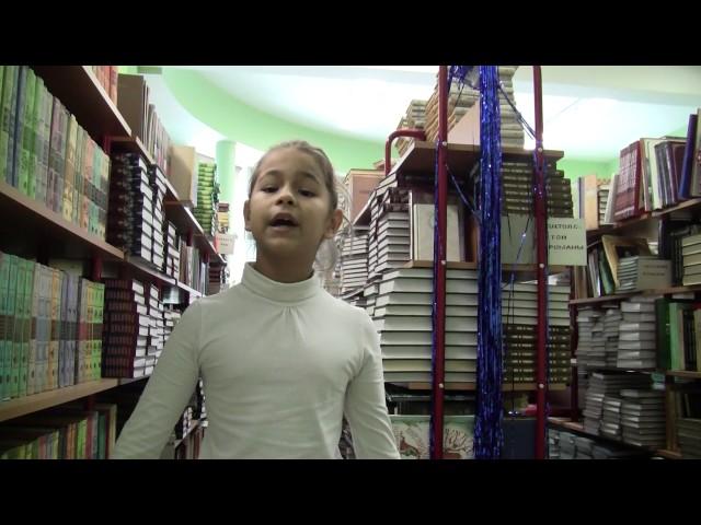 Изображение предпросмотра прочтения – ХрипковаУльяна читает отрывок изпроизведения «Мороз, Красный нос» Н.А.Некрасова