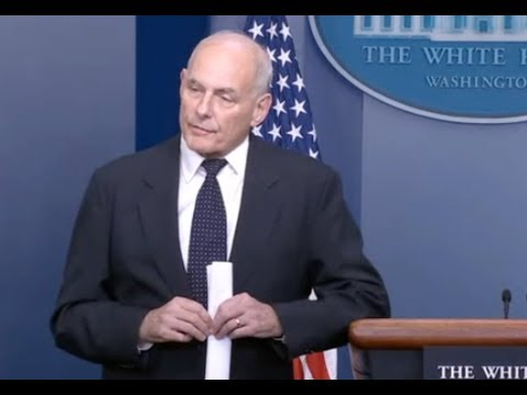 Gen Kelly Defends Trump On Gold Star Family Call
