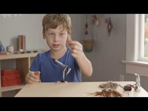 Fully Kids: How to tie a fly