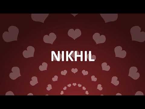 HAPPY BIRTHDAY NIKHIL