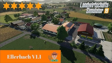 LS19 Mapvorstellung II Ellerbach V1.1