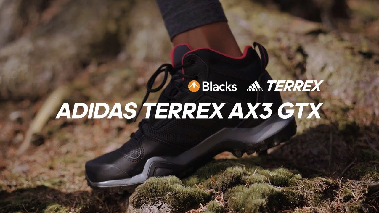 Introducing adidas Terrex AX3 Shoes