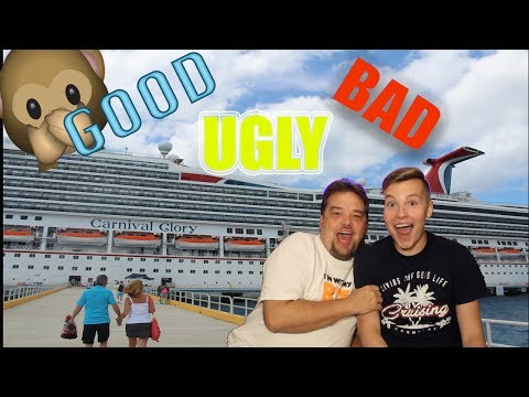 CARNIVAL GLORY CRUISE VACATION 2017 RECAP & REVIEW! The Good, Bad, and Ugly!