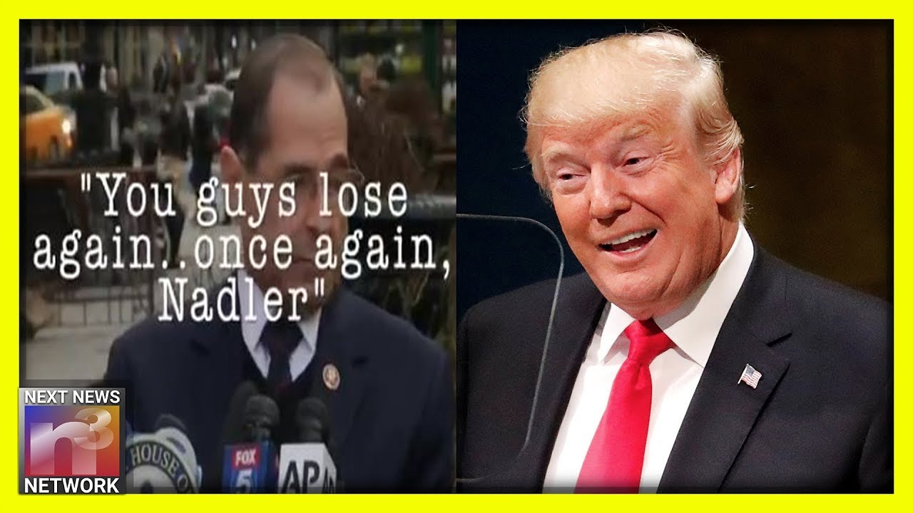 Jerry Nadler CORNERED After Embarrassing Impeachment Loss - Trump Weighs in from the Sidelines!
