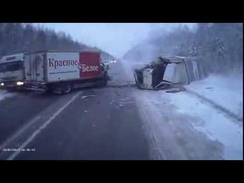 ДТП на трассе Пермь Екатеринбург
