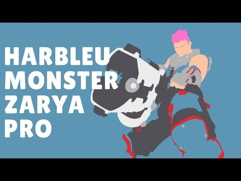 Overwatch Best Zarya Pro Harbleu Monster Gameplay With 52 Elims thumbnail