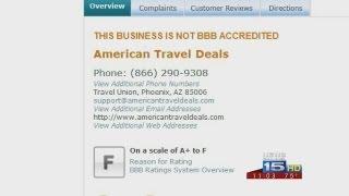 BBB warns people of free flight letter