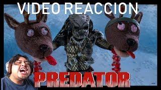 Video Reaccion A: The Predator Espacial Navideño