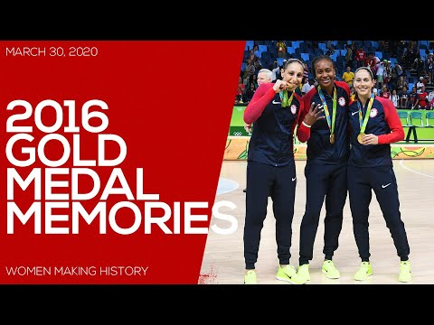 RECORD SIX STRAIGHT GOLD MEDALS // 2016 USA OLYMPIC TEAM