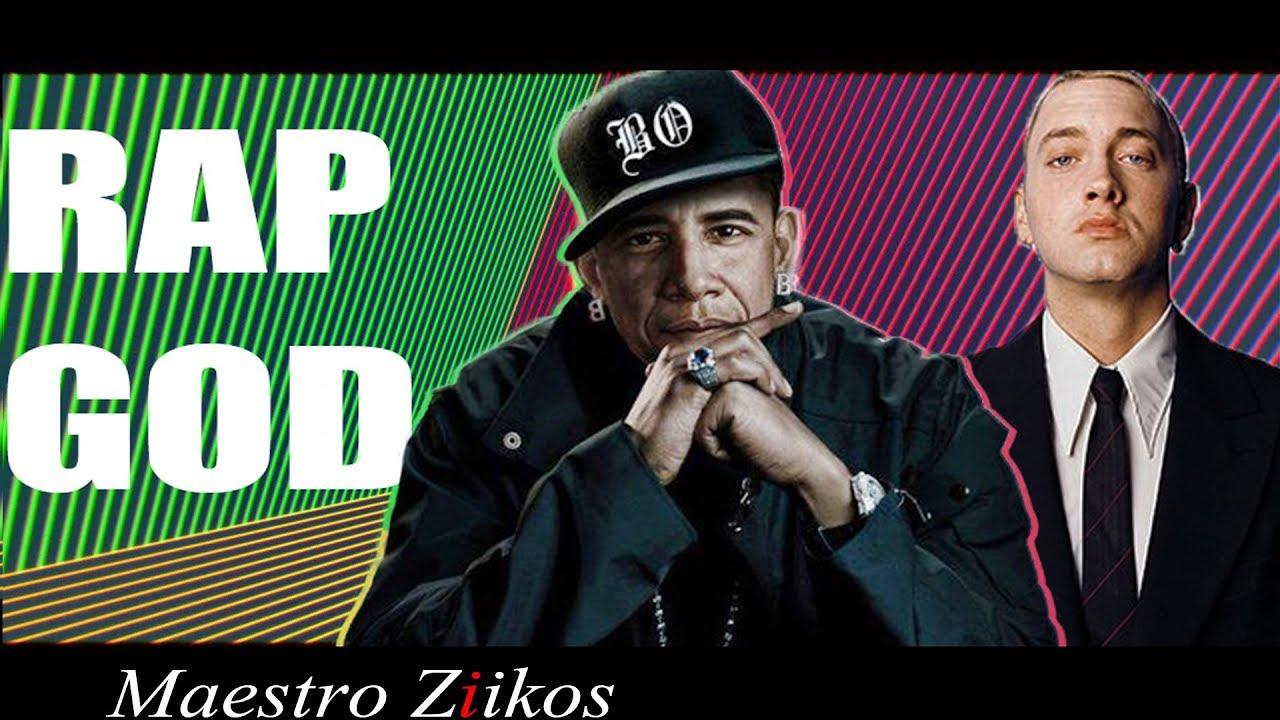 Hiphop artister spelar for obama