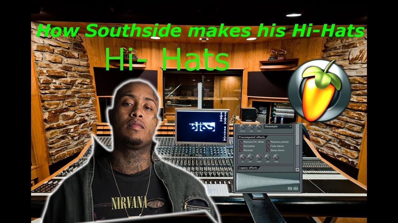 SOUTHSIDE HI-HATS SECRET MIXING TECHNIQUES [ FL - Studio Tutorial ]
