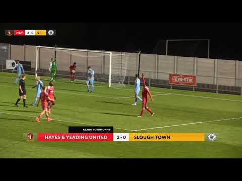 Hayes & Yeading v Slough Town - 14th Nov 2017