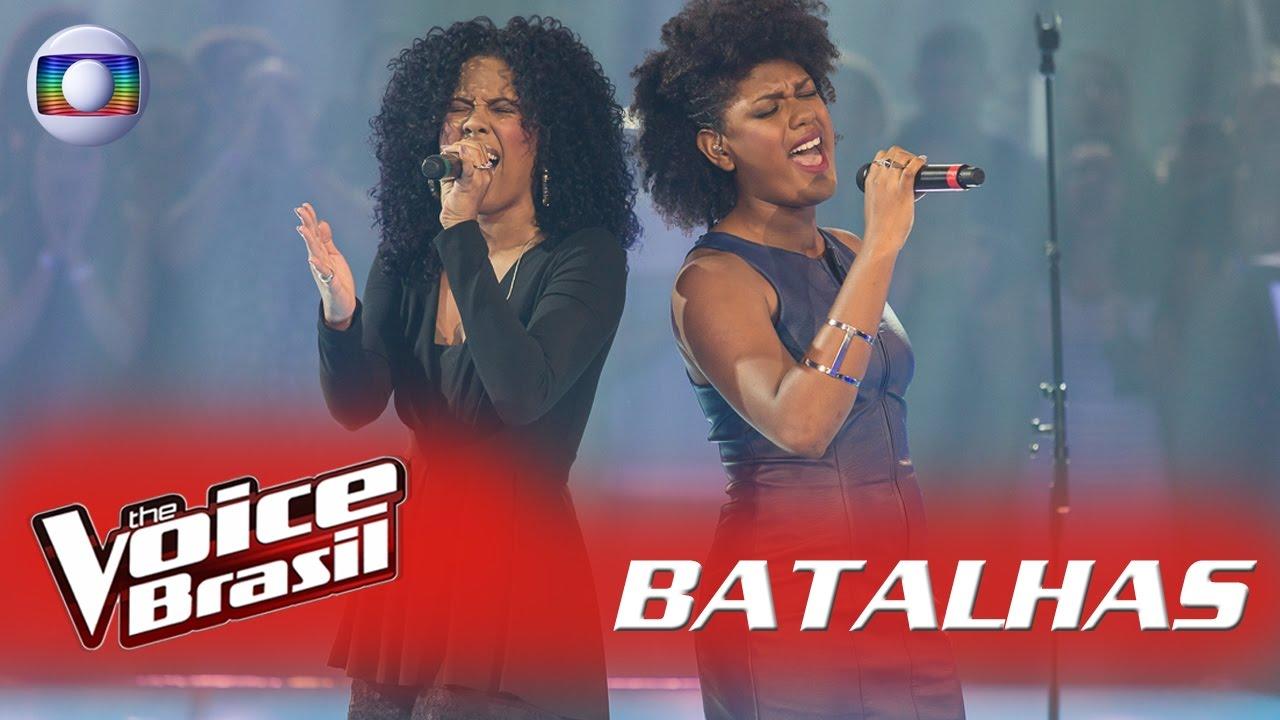 Resultado de imagem para Kassia Marvila e Mylena Jardim cantam 'Killing Me Softly' nas Batalhas – 'The Voice Brasil'