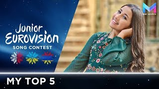 Junior Eurovision 2018 - MY TOP 5 (so far) | +🇲🇹🇺🇦🇦🇲