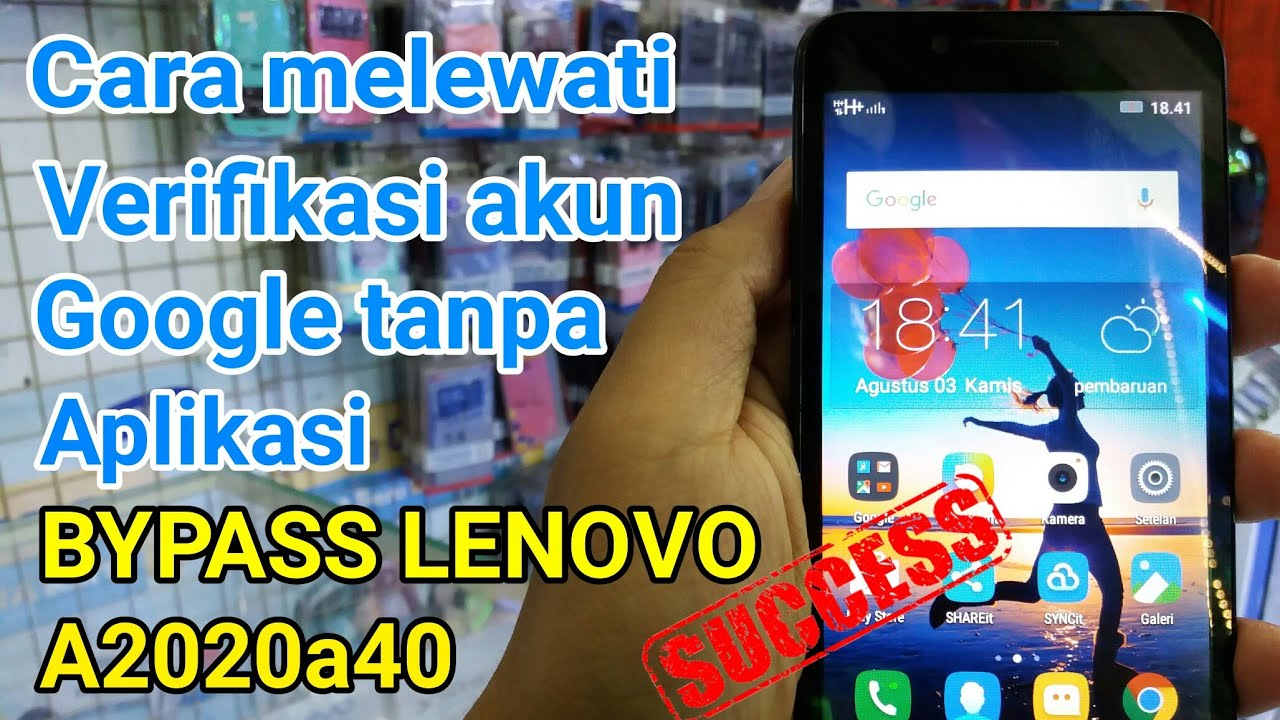 Cara Bypass Frp Unlock Google Account Lenovo A2020a40 Tanpa Aplikasi