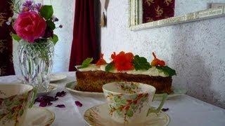 Zucchini and Ginger Cake Recipe - Organic Ingredients