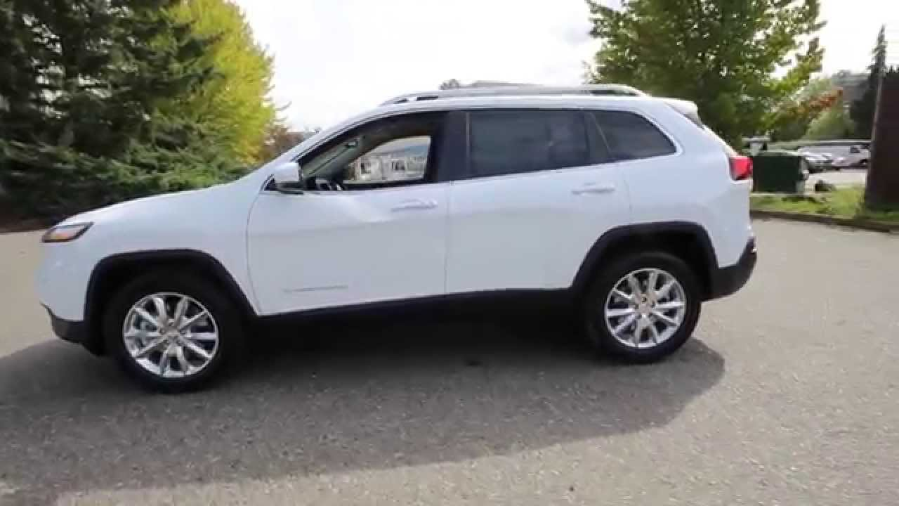 2016 Jeep Cherokee Limited Bright White Gw118335