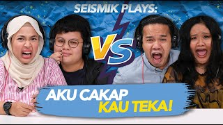 Hot FM vs SEISMIK TV | Aku Cakap Kau Teka EP1