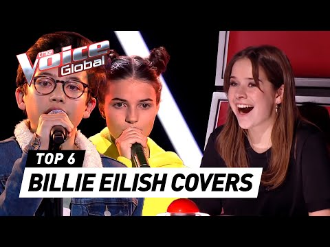 BEST BILLIE EILISH COVERS In The Voice Kids