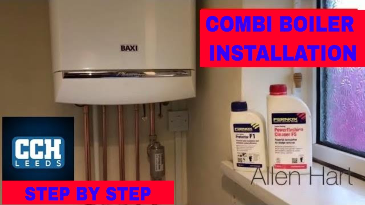 how to install a combination boiler baxi gas combi boiler installation [ 1280 x 720 Pixel ]