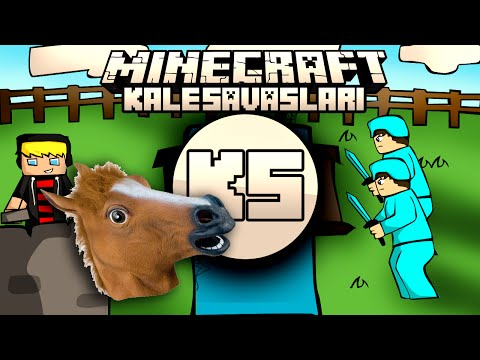 Minecraft: NDNG Kale Savaşları - AT KALESİ!! w/Turgut Lufit Baturay