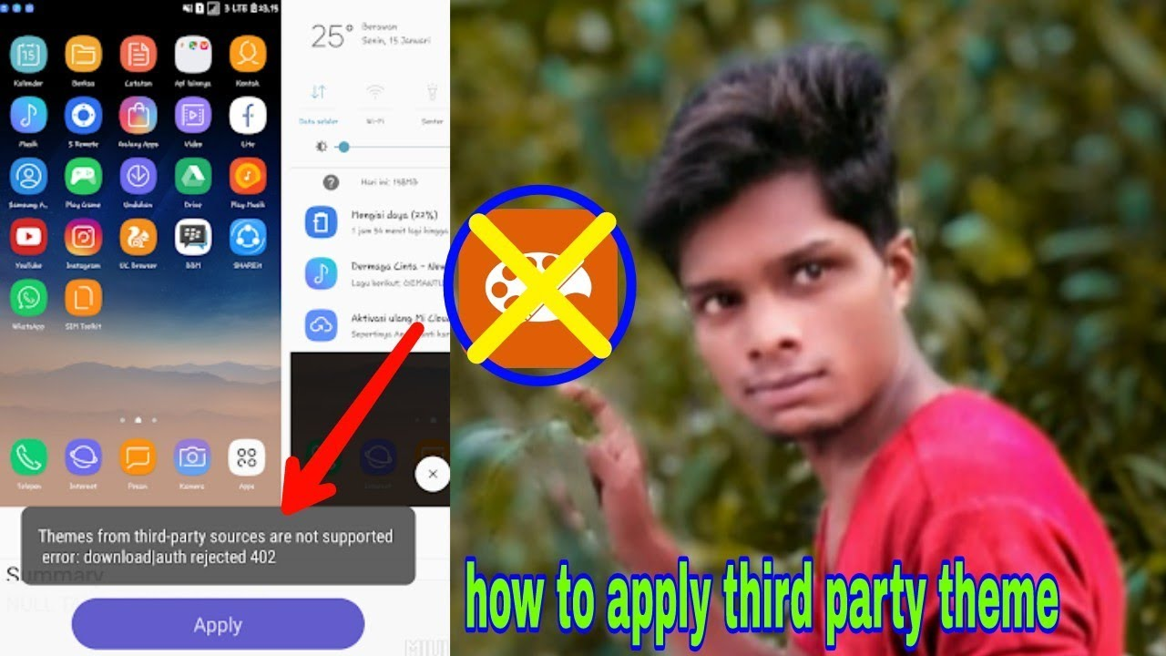 How to apply third party theme without miui theme editor