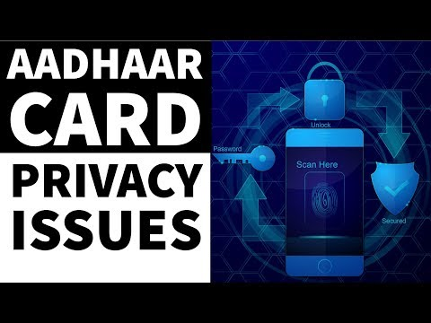 क्या आधार कार्ड निजता के अधिकार के खिलाफ होगा ? Is Adhaar card a breach of right to privacy?