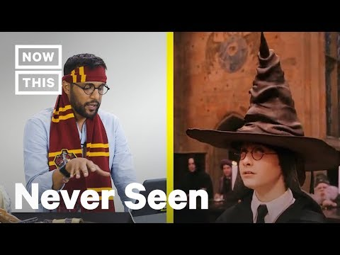 These People Have Never Seen 'Harry Potter' | NowThis