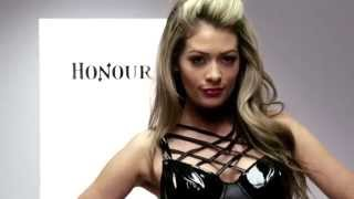 Honour Wet Look Criss Cross Body Thumbnail