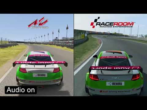 Assetto Corsa vs RaceRoom - Audi TT Cup Comparison |