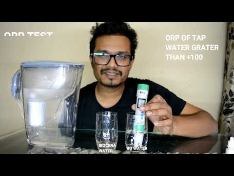 BIOCERA ALKALINE ANTIOXIDANT WATER JUG LIVE TESTS