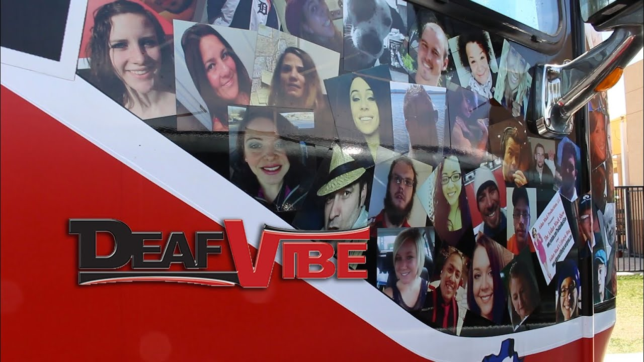 Image result for The DeafVibe Foundation Logo