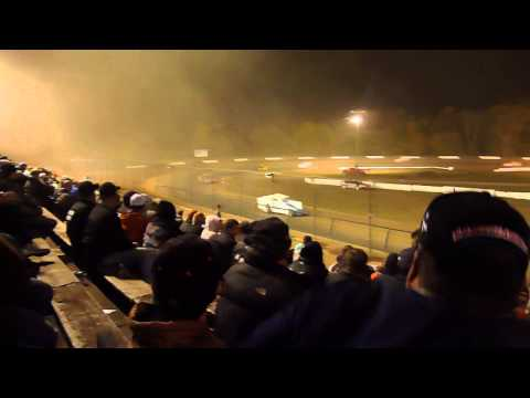 Cayuga County Fair Speedway, Weedsport,  NY Oct 2012